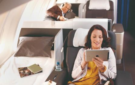 Die neue Lufthansa First Class hebt jetzt ab
