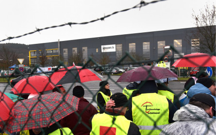 Wieder Streik-Aufruf bei Amazon