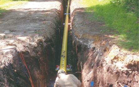 Erneuerung der Gasleitungen