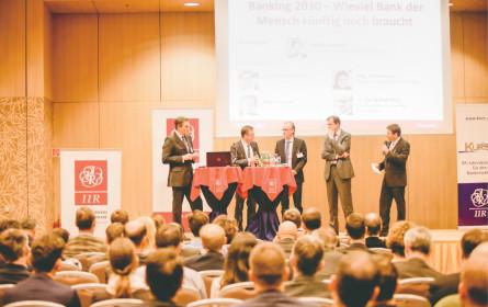 Symposium der Finanzbranche-Experten
