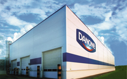 Danone legt 4,8% zu