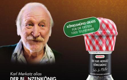 Karl Merkatz als Kotányi-Testimonial