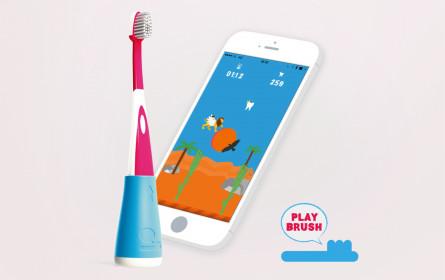 Zahnbürsten werden mit App zu Gaming-Controller