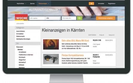 Kleinanzeigen der RMA digital verfügbar