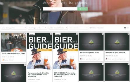 Suchen & finden: medianet-Blackboard