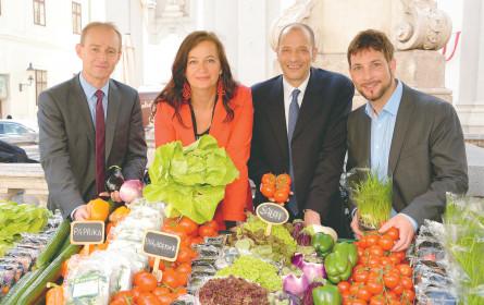 Mit frischem Gemüse wird es wieder bunt im Lande