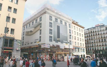 Großflächen-Werbung in Wien