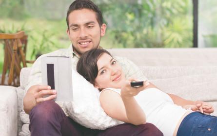 TV verlängert auf mobile Devices