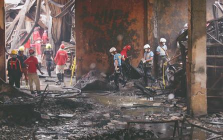72 Tote nach Brand in Schuhfabrik