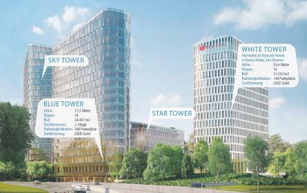 Bau der Bavaria Towers in München startet