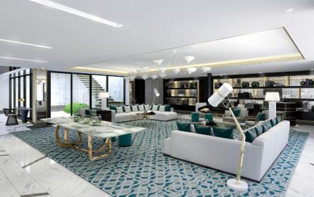 Penthouse im fashionablen Nobeldesign
