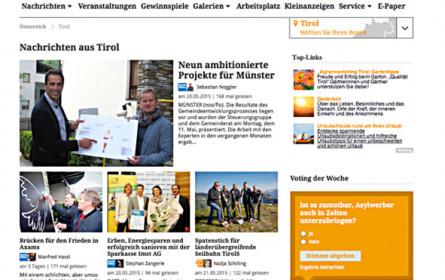 Online-Portal im neuen Design