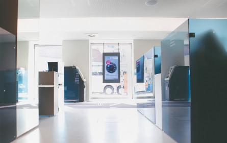 """DMS mit """"Superslim-Screens"""" für Erste Bank"""