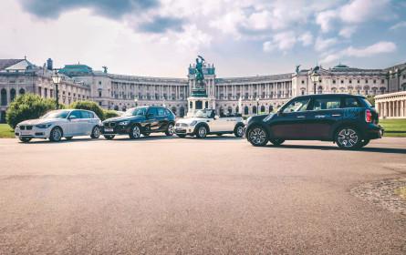 BMW-Carsharing-Dienst etabliert sich in Wien