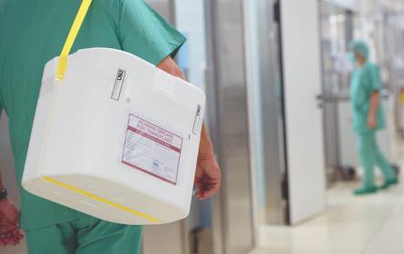 Organtransplantationen nehmen zu
