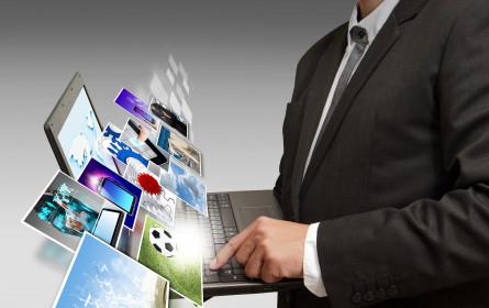 Internet-Werbung drängt weltweit an die Spitze