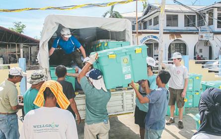 Kooperation verbessert die humanitäre Logistik