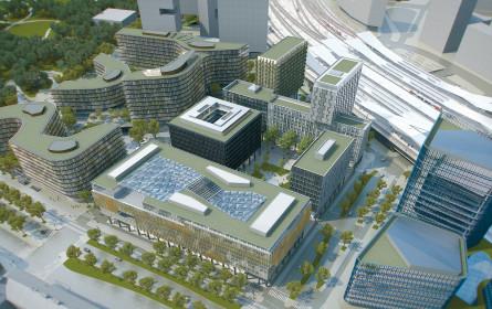 "Urbanes Leitprojekt nimmt Formen an: Start beim ""Quartier Belvedere Central"""