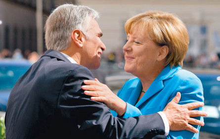 """Angela Merkel und das """"richtige"""" Gefühl"""