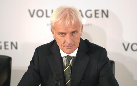 Bei VW läuft so einiges im Dreck