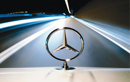 Rennen um Platz Eins: Mercedes gibt ordentlich Gas