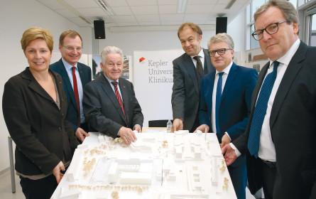 Das neue Campusgebäude der Med-Fakultät in Linz