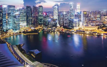 Die Immo-Preise in Singapur erodieren