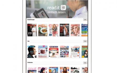 read.it in Österreich gestartet