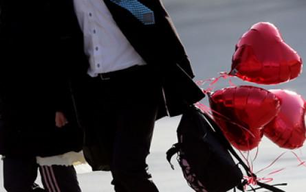 Valentinstag soll 105 Mio. € Umsatz bringen
