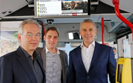 Infoscreen: Vollausbau in Klagenfurt abgeschlossen