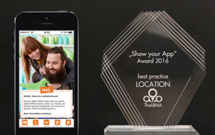"IQ mobile gewinnt ""Show your App""-Award 2016"
