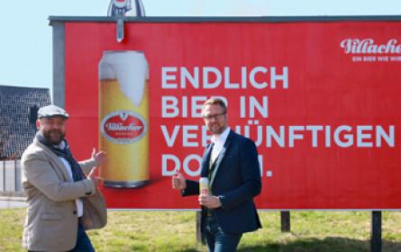 Villacher Bier setzt auf Formatsprengung
