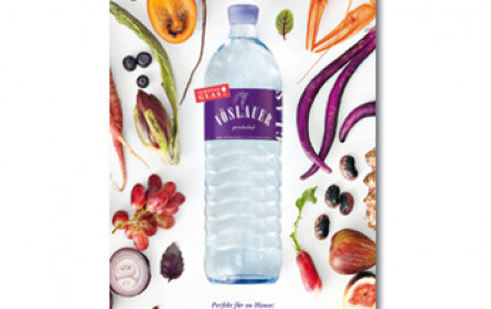Neue Kampagne für die 1 Liter Glasflasche von Vöslauer