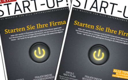 "Kurier launcht das neue Magazin ""Start-Up!"""