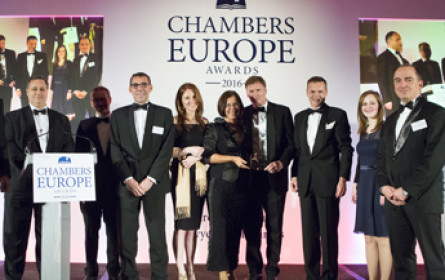 "CMS: Chambers ""Law Firm of the Year"" Award für 2016 für CEE"