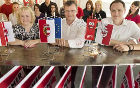 Platz 1 beim Salzburger Wirtschaftspreis für Fahnen-Gärtner