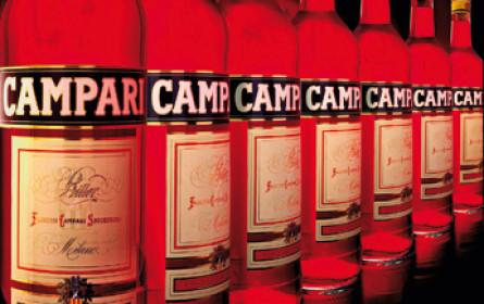 Campari legt zu
