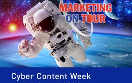 Anmeldung zu Marketing On Tour möglich