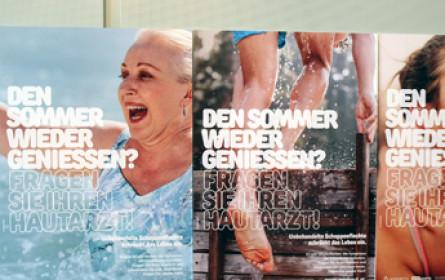 """Aufklärungskampagne: """"Zeigen Sie wieder Haut"""""""