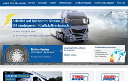 Goodyear lanciert Lkw-Website