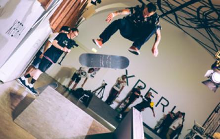 "Premiere des ""Sony Xperia X Skate-Pop-Up"""