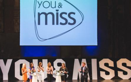"""""""miss"""", diego5 und styria digital one starten Video-Brand """"you & miss"""""""