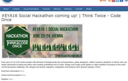 Social Hackathon zum Thema Flucht, Migration und Integration