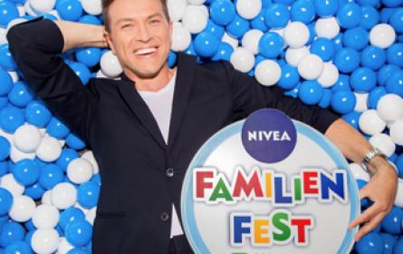 Nivea feiert 25 Jahre Familienfest