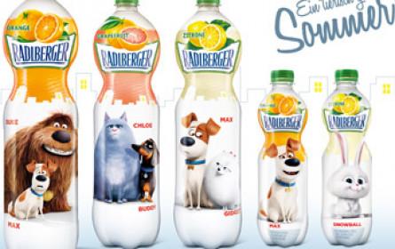 "Radlberger kooperiert mit 3D-Animationsfilm ""Pets"""