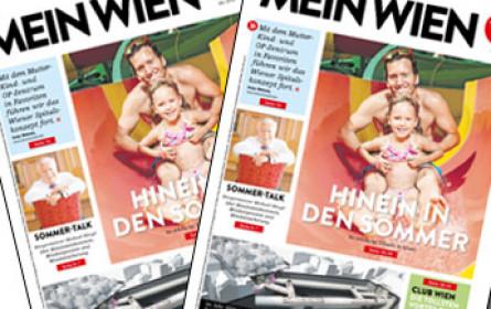 """""""wien.at"""" - das Infoblatt wird zu """"Mein Wien"""""""