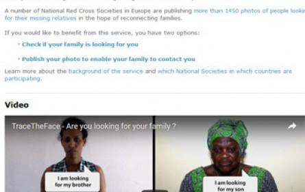 Vermisste Familienmitglieder durch Online-Suche finden