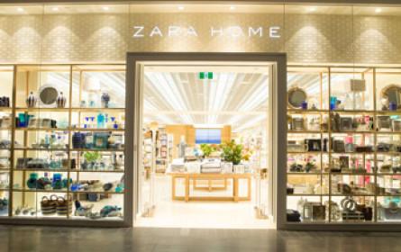 Zara Home eröffnet im Donauzentrum