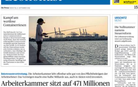 """""""Die Presse"""" baut Wirtschaftsberichterstattung aus"""