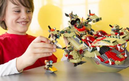 Lego mit weniger Gewinn